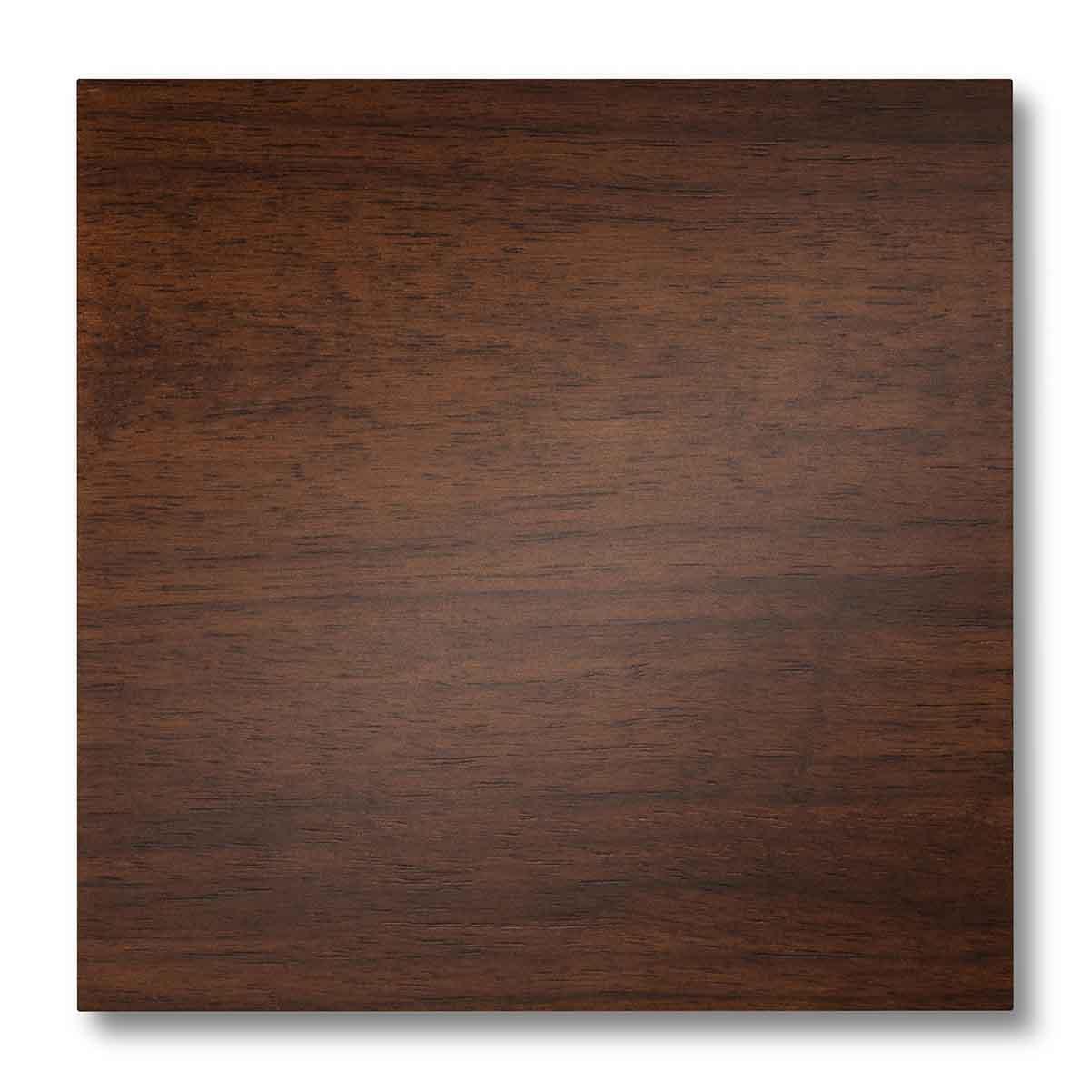 Pannellino di legno dipinto con effetto luminescente colore naturale su tanganica