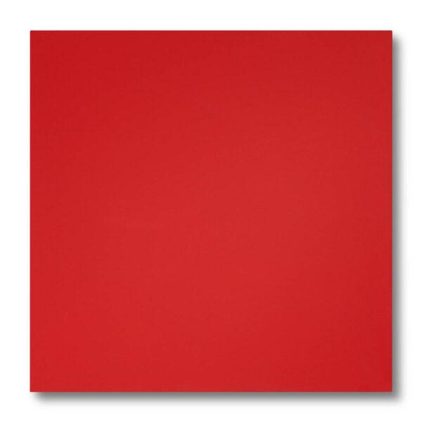 Pannellino di legno dipinto con effetto profumato colore rosso fragola, laccato 5 gloss