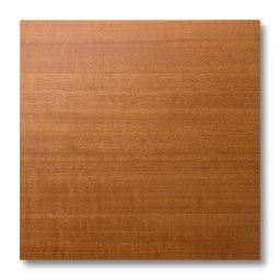 Pannellino di legno dipinto di colore miele su tanganica 20 gloss, resistente all'abrasione