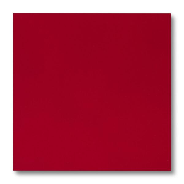 Pannellino di legno dipinto con effetto seta colore rosso, laccato 5 gloss