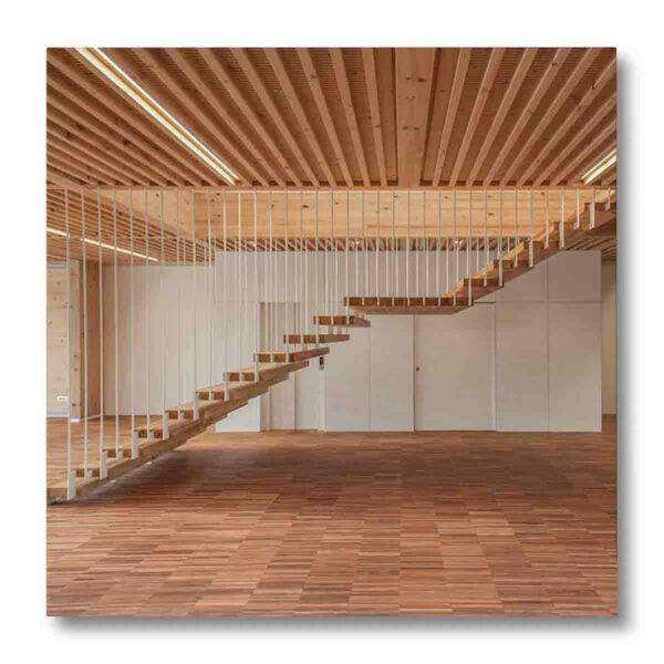 Interni in legno trattati con vernice ignifuga conforme uni en 13501