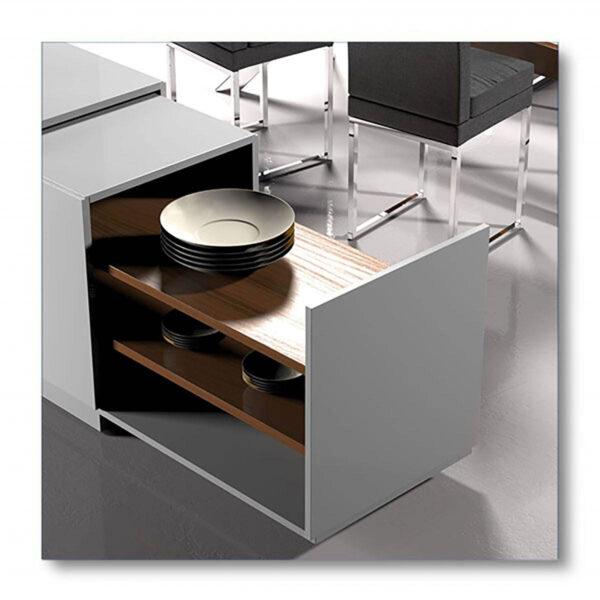 Superfici cucina resistenti ai graffi trattate con vernice per legno Milesi